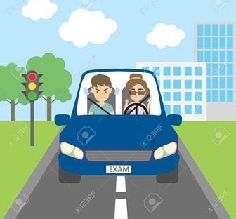 نمونه سوالات آزمون مقدماتی مرحله اول آیین نامه رانندگی