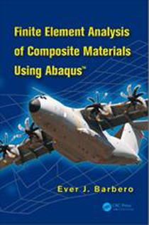کتاب Finite Element Analysis of Composite Materials Using Abaqus