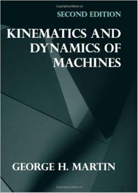 کتاب سینماتیک و دینامیک ماشین مارتین