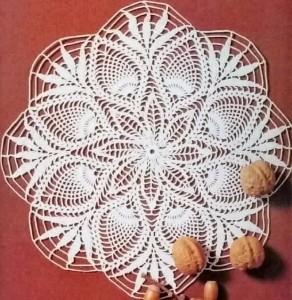 Crochet-Doily-free-pattern 25R 20