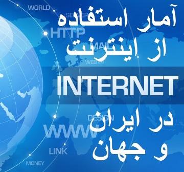 آمار استفاده از اینترنت
